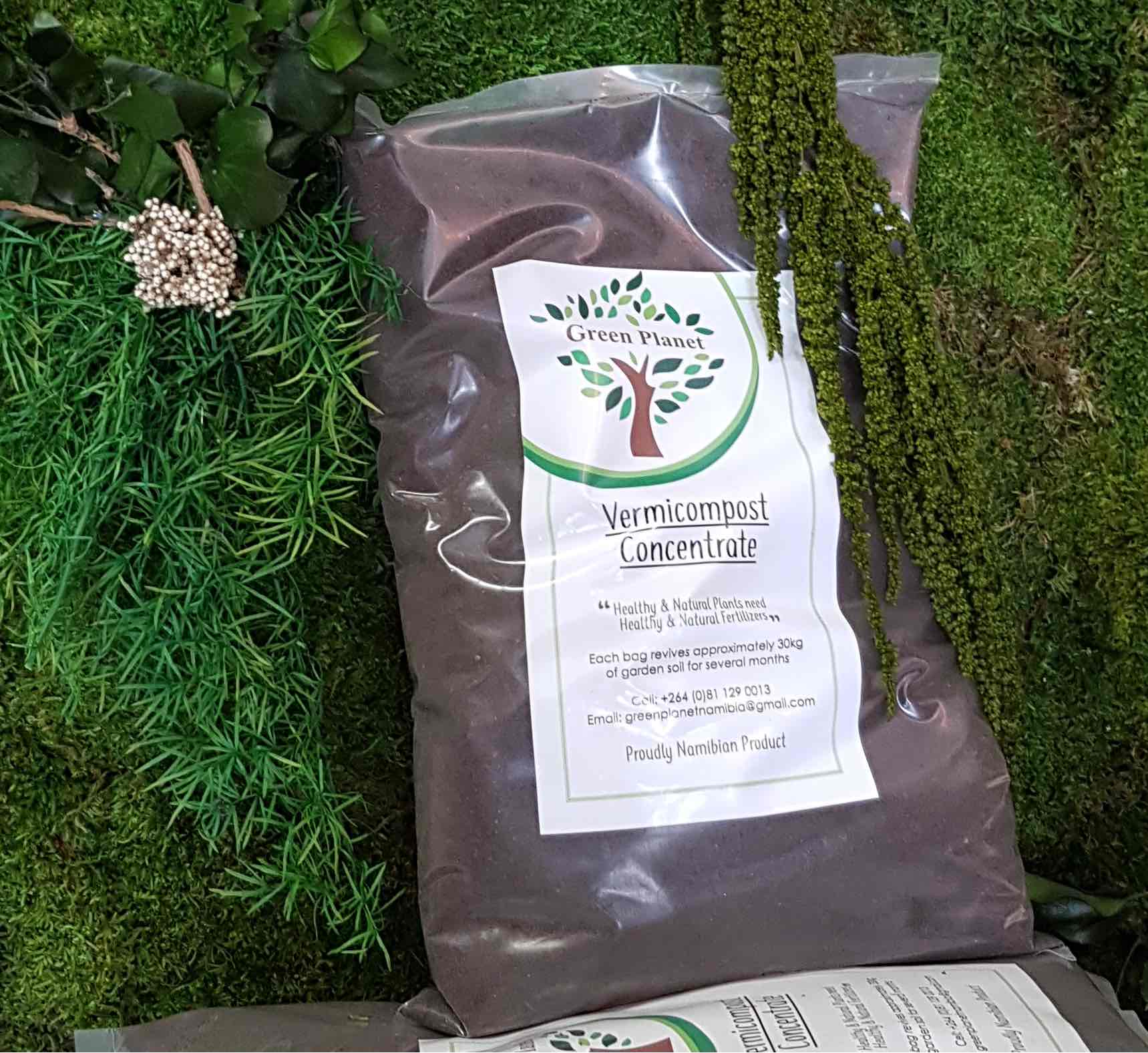 Use our vermicompost concentrate to create beautiful garden at your home